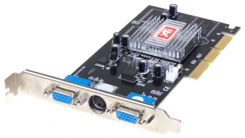 Видеокарта ATI RV100 32Mb AGP4x SDR