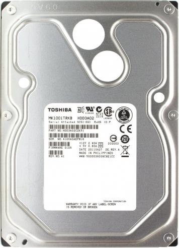 "Жесткий диск Toshiba MK1001TRKB 1Tb  SAS 3,5"" HDD"