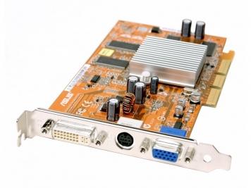 Видеокарта ASUS A9250GE/TD 128Mb AGP8x