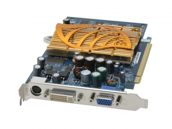 Видеокарта Gigabyte GV-NX66256DP 256Mb PCI-E16x DDR