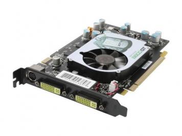Видеокарта XFX PV-T84J-UDF3 256Mb PCI-E16x GDDR3
