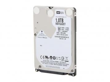 """Жесткий диск Western Digital WD10JUCT 1Tb 5400 SATAIII 2,5"""" HDD"""