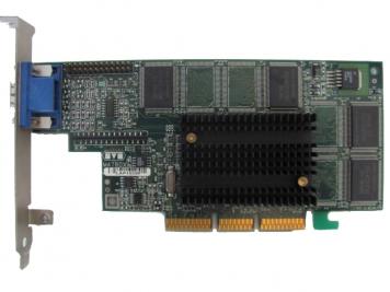 Видеокарта Matrox G4+MILA/32/HP 32Mb AGP4x SDR