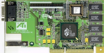 Видеокарта ATI 3DRagePro 12)Mb PCI