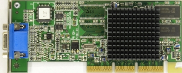 Видеокарта ATI Rage128Ultra 16Mb AGP4x SDR