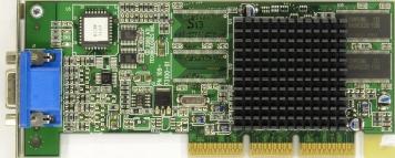 Видеокарта ATI ARV100C1N-64M 64Mb AGP4x DDR