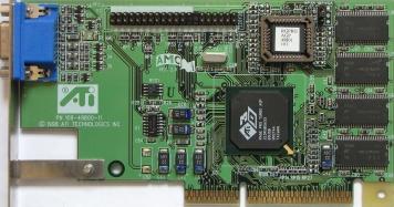 Видеокарта ATI Xpert98 8Mb AGP2x