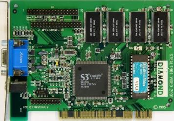Видеокарта Diamond Stealth64 2Mb PCI