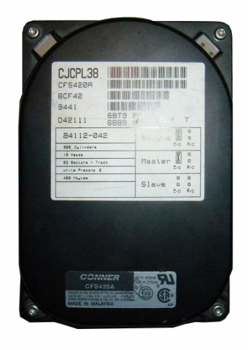 "Жесткий диск Conner CT215 15Gb 5400 IDE 3.5"" HDD"