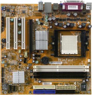 Материнская плата Foxconn 6100K8MA-RS Socket 939