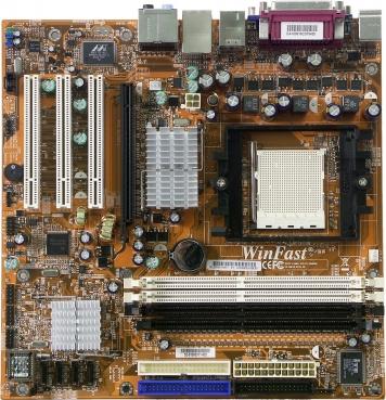 Материнская плата Foxconn 6150K8MD-8EKRS Socket 939
