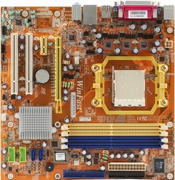 Материнская плата Foxconn MCP61SM2MA-ERS2H Socket AM2