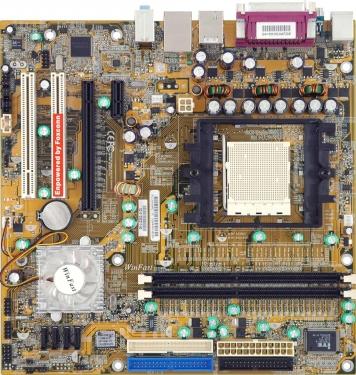 Материнская плата Foxconn NF4K8MC-ERS Socket 939