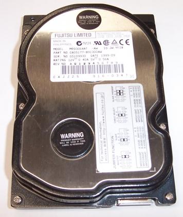"Жесткий диск Fujitsu MPD3064AT 6,4Gb 5400 IDE 3.5"" HDD"