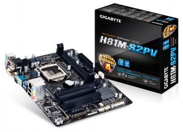 Материнская плата Gigabyte GA-H81M-S2PV Socket 1150