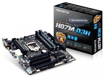 Материнская плата Gigabyte GA-H87M-D3H Socket 1150
