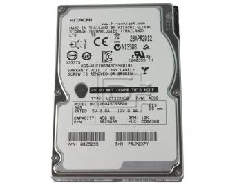 "Жесткий диск Hitachi HUC106045CSS600 450Gb 10000 SAS 2,5"" HDD"