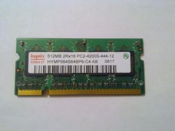 Оперативная память Hynix HYMP564S64BP6-C4 DDRII 512Mb