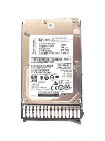 "Жесткий диск Lenovo 00WG666 600Gb 15000 SAS 2,5"" HDD"
