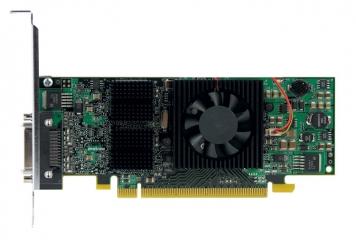 Видеокарта Matrox QID-E128LPAF 128Mb PCI-E16x GDDR2