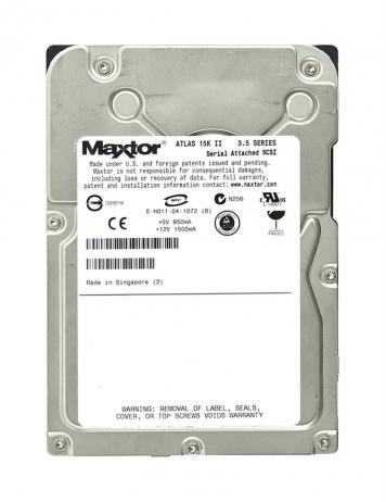 "Жесткий диск Maxtor 8E147S0 147Gb 15000 SAS 3,5"" HDD"