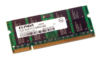 Оперативная память Elpida EBE21UE8AFSA-8G-F DDRII 2048Mb
