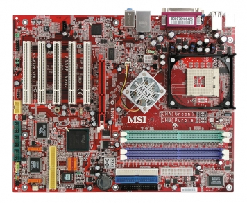 Материнская плата Micro-Star MS-6728 Socket 478