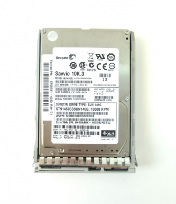 """Жесткий диск Sun 390-0448 146Gb  SAS 2,5"""" HDD"""