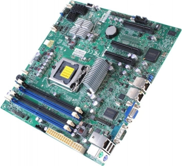 Материнская плата SuperMicro X9SCL Socket 1155