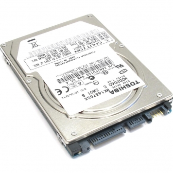 "Жесткий диск Toshiba MK1637GSX 160Gb 5400 SATAII 2,5"" HDD"