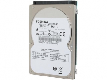 "Жесткий диск Toshiba MK3256GSY 320Gb 7200 SATAII 2,5"" HDD"