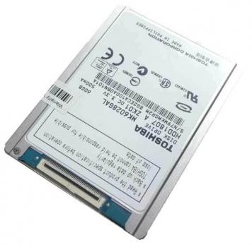 """Жесткий диск Toshiba MK6028GAL 60Gb 4200 ide 1,8"""" HDD"""