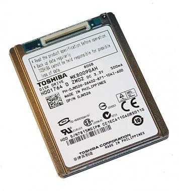 "Жесткий диск Toshiba MK8009GAH 80Gb 4200 IDE 1,8"" HDD"