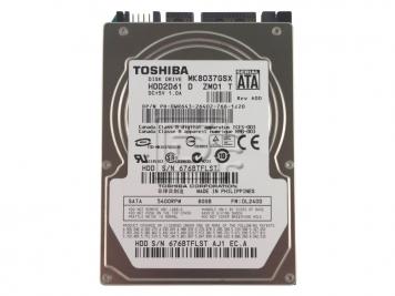 "Жесткий диск Toshiba MK8037GSX 80Gb 5400 SATAII 2,5"" HDD"