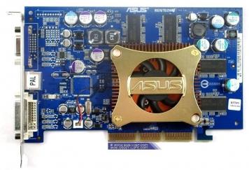 Видеокарта ASUS V9570LE/TD/P/128M 128Mb AGP8x DDR