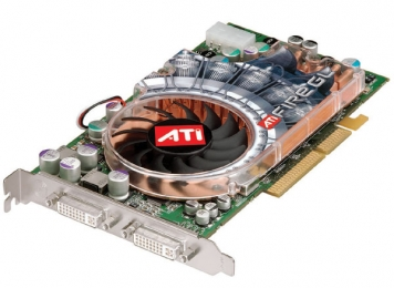 Видеокарта ATI FireGL X2-256T 256Mb AGP8x DDR