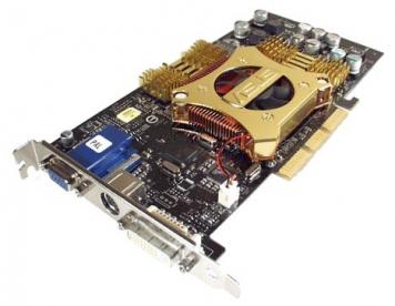 Видеокарта ASUS V9280 128Mb AGP8x DDR