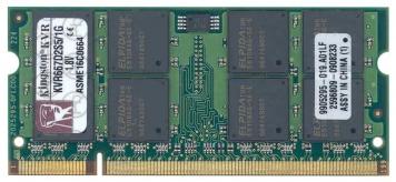 Оперативная память Kingston KVR667D2S5/1G DDRII 1024Mb