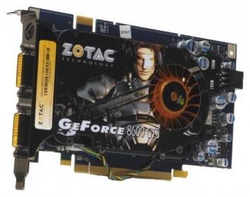 Видеокарта Zotac GF8600GS 512Mb PCI-E16x GDDR2