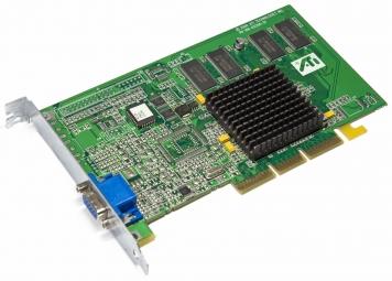 Видеокарта ATI Xpert2000Pro 32Mb AGP4x SDR
