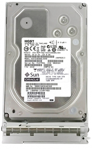 "Жесткий диск Sun H7230AS60SUN3.0T 3Tb 7200 SAS 3,5"" HDD"