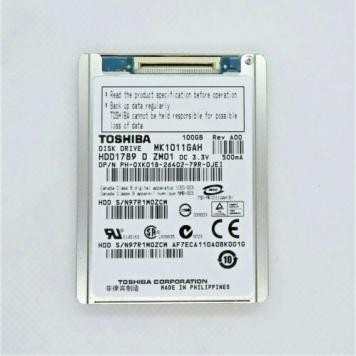 "Жесткий диск Toshiba MK1011GAH 100Gb 4200 IDE 1,8"" HDD"