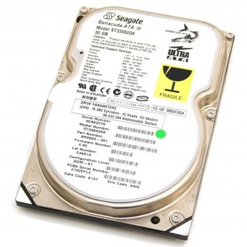 "Жесткий диск Seagate ST330620A 30Gb 7200 IDE 3.5"" HDD"