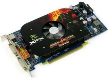 Видеокарта XFX PV-T42E-NDF3 128Mb PCI-E16x GDDR3